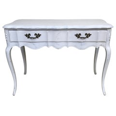 French Louis XV Style Writing Table / Console