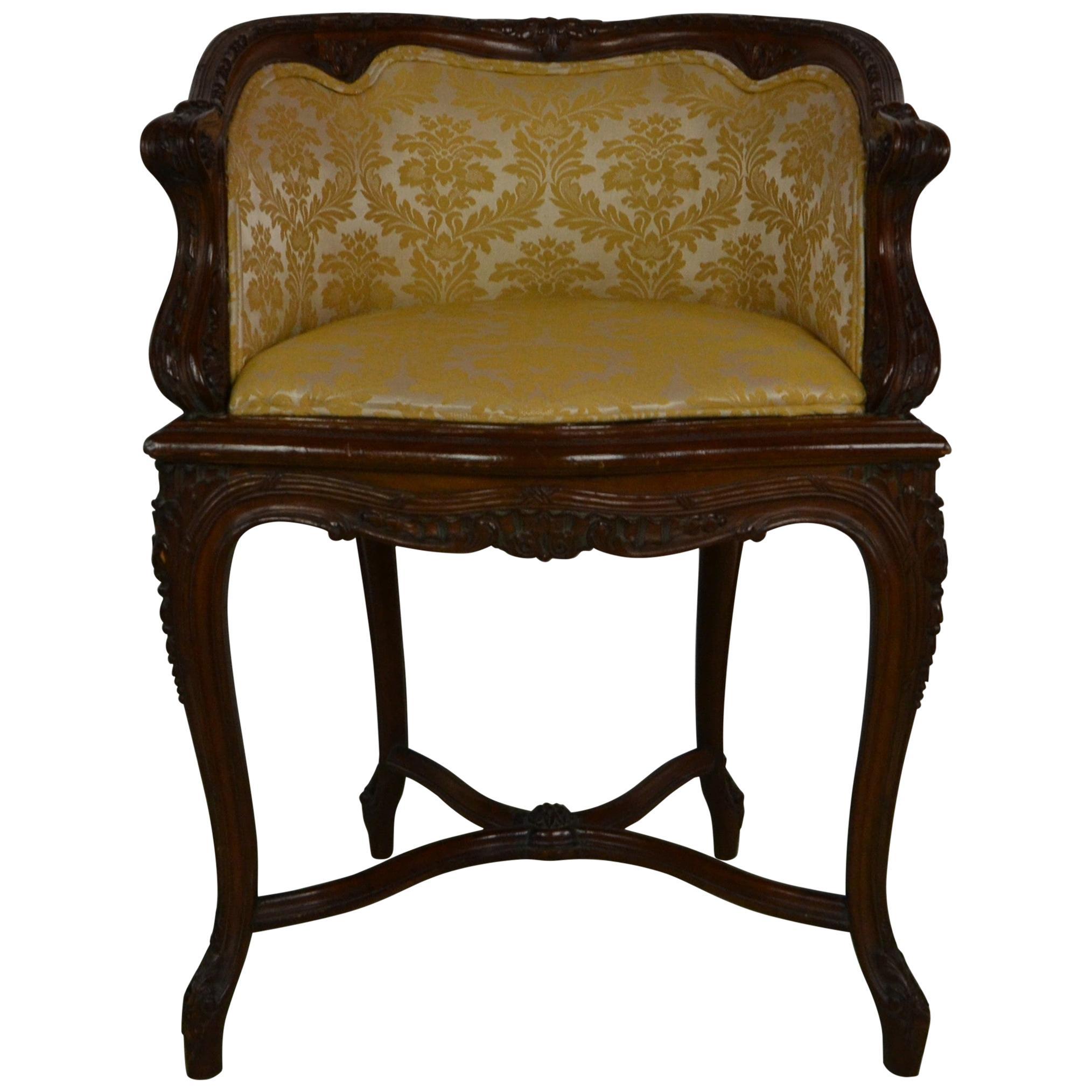 French Louis XV Vanity Chair