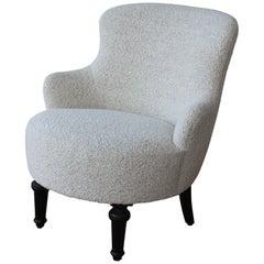 French Louis XVI Boudoir Chair