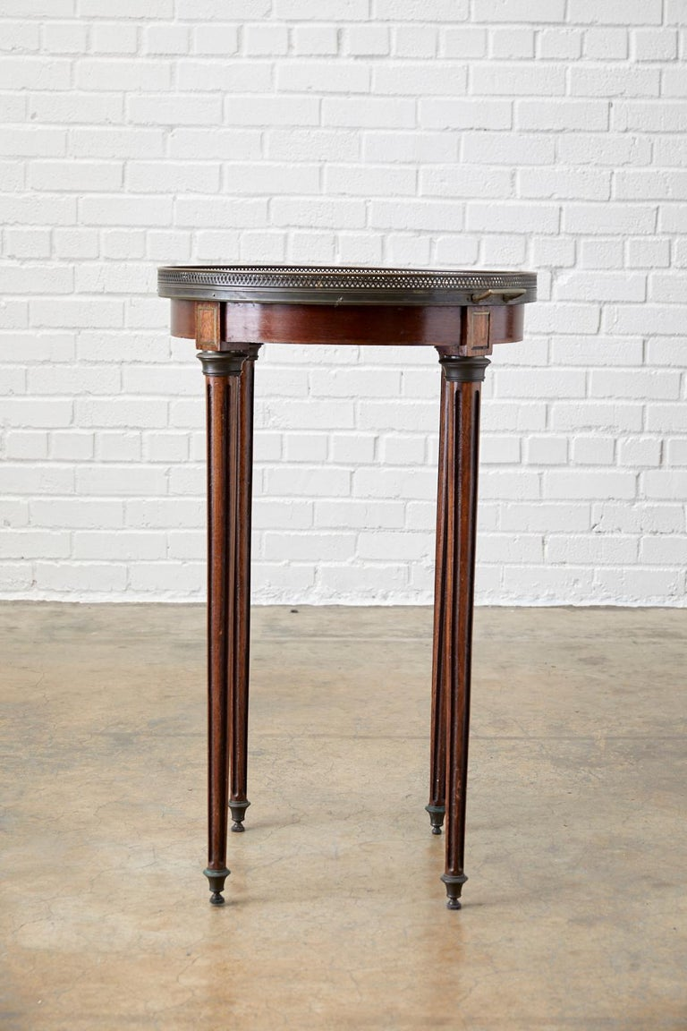 French Louis XVI Bouillotte or Drinks Table 4