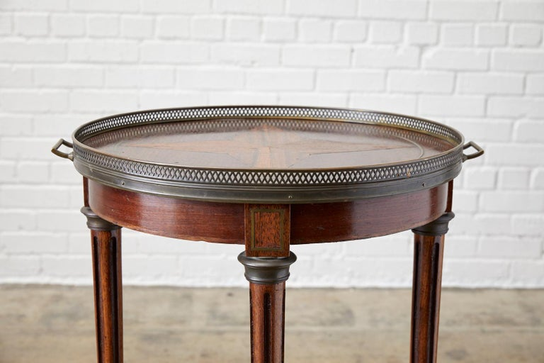 French Louis XVI Bouillotte or Drinks Table 5
