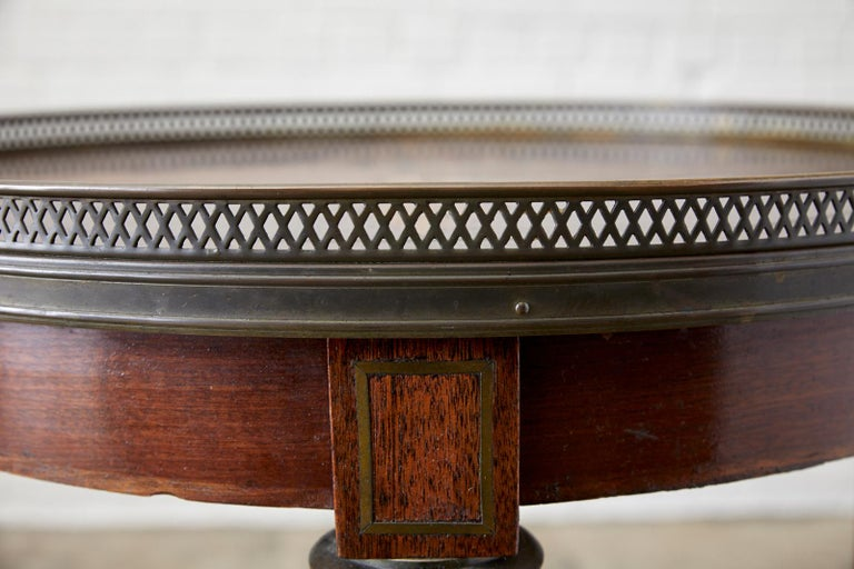 French Louis XVI Bouillotte or Drinks Table 7