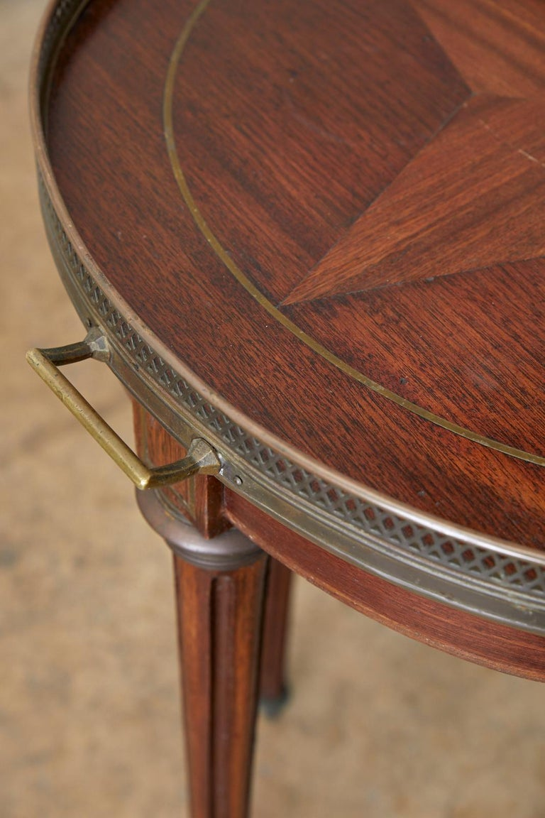French Louis XVI Bouillotte or Drinks Table 8
