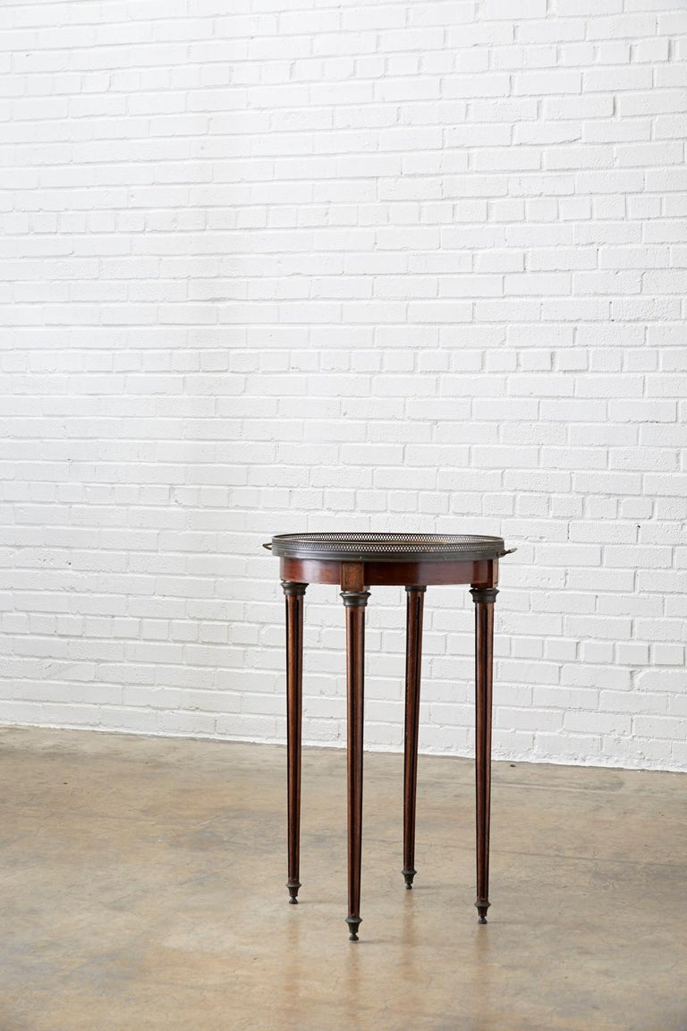 French Louis XVI Bouillotte or Drinks Table 9