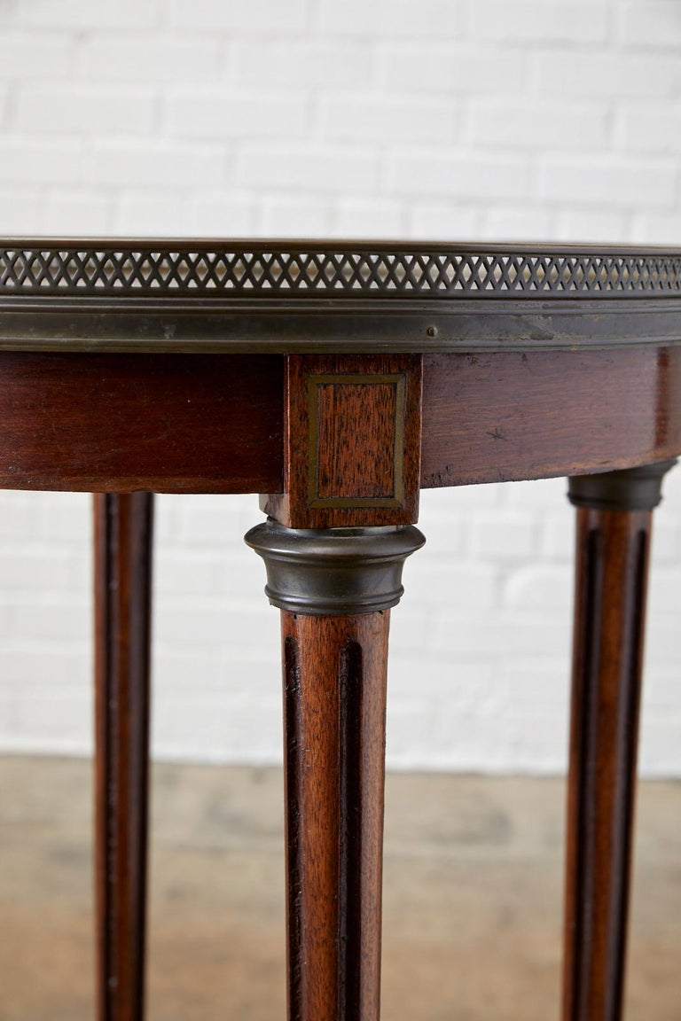 19th Century French Louis XVI Bouillotte or Drinks Table