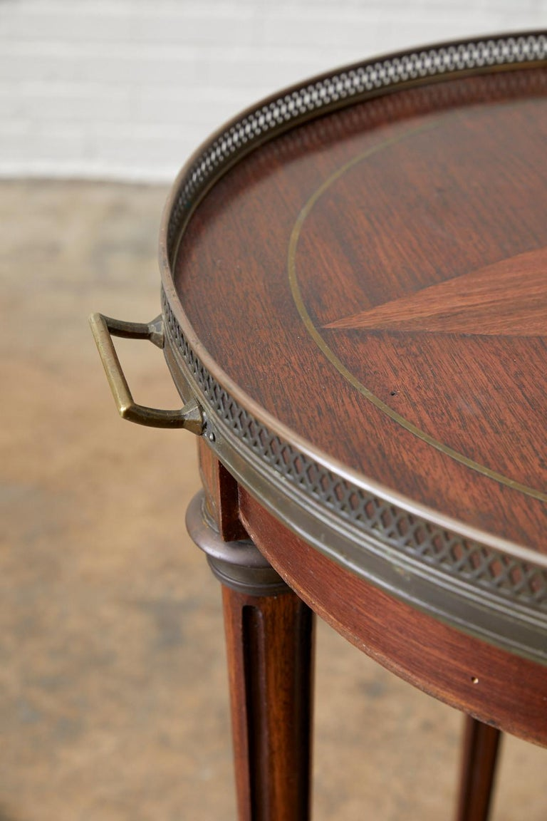 French Louis XVI Bouillotte or Drinks Table 1