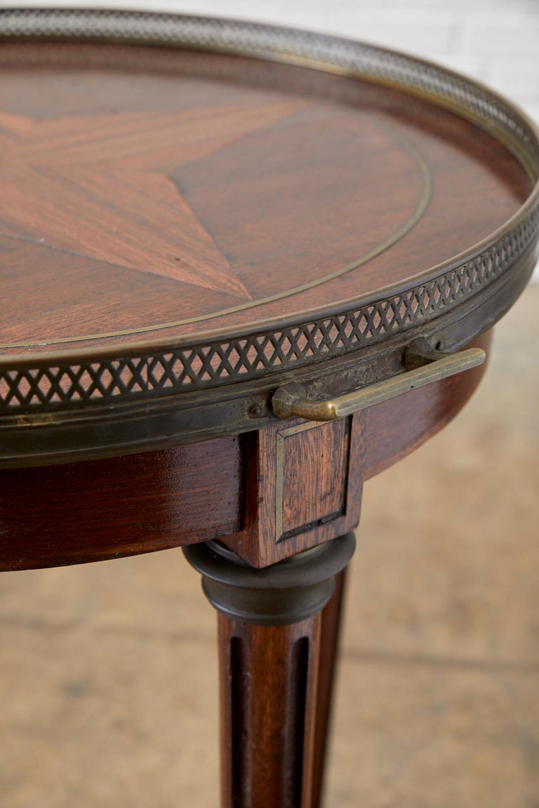 French Louis XVI Bouillotte or Drinks Table 2