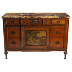 French Louis XVI Bronze Mounted Commode