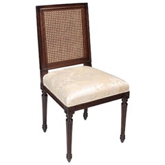 French Louis XVI Dining Chair, 20th Century