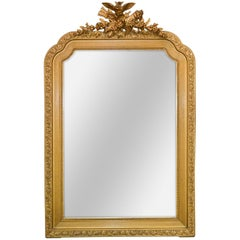 French Louis XVI Giltwood Mirror, circa 1920