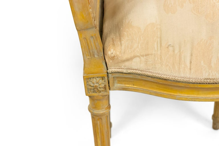 19th Century French Louis XVI Lyre Side Chairs For Sale