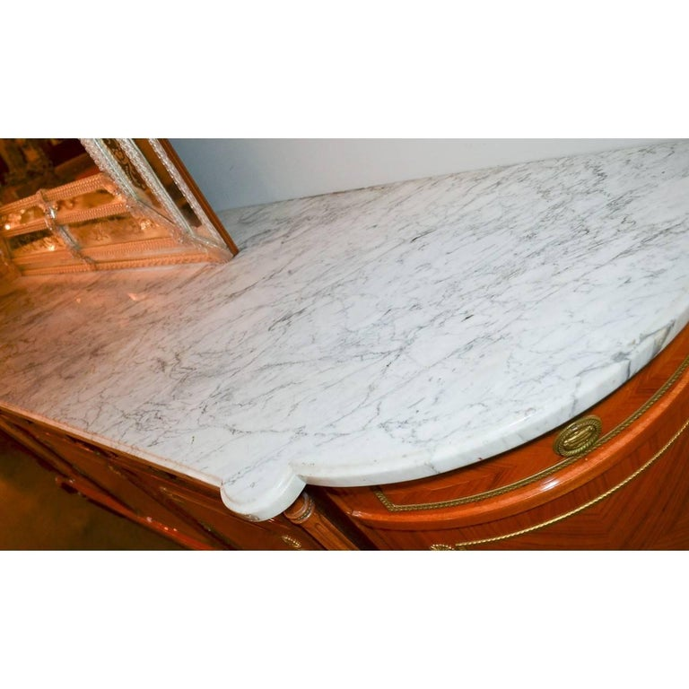 20th Century French Louis XVI Marble-Top Sideboard For Sale