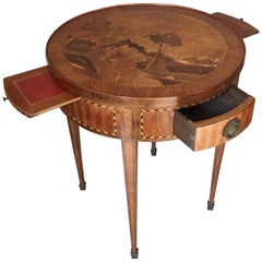 French Louis XVI Period Signed Richard Playing Bouillotte Table