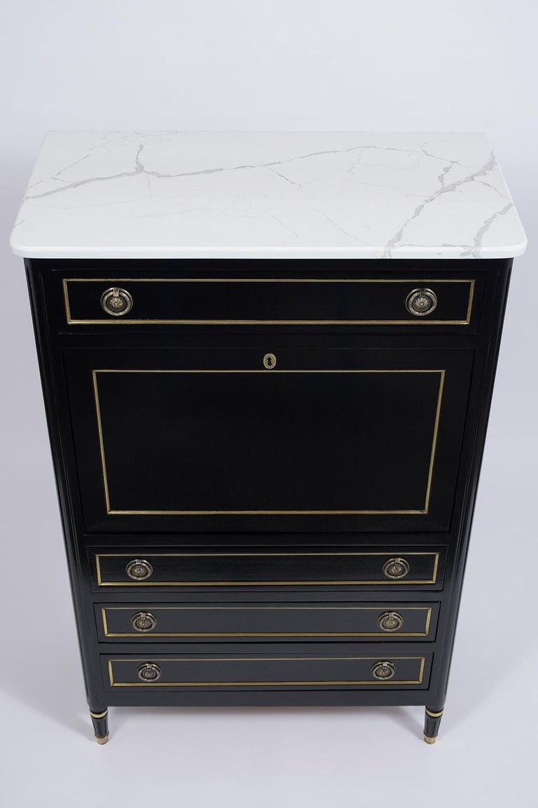 Dyed French Louis XVI Secretaire