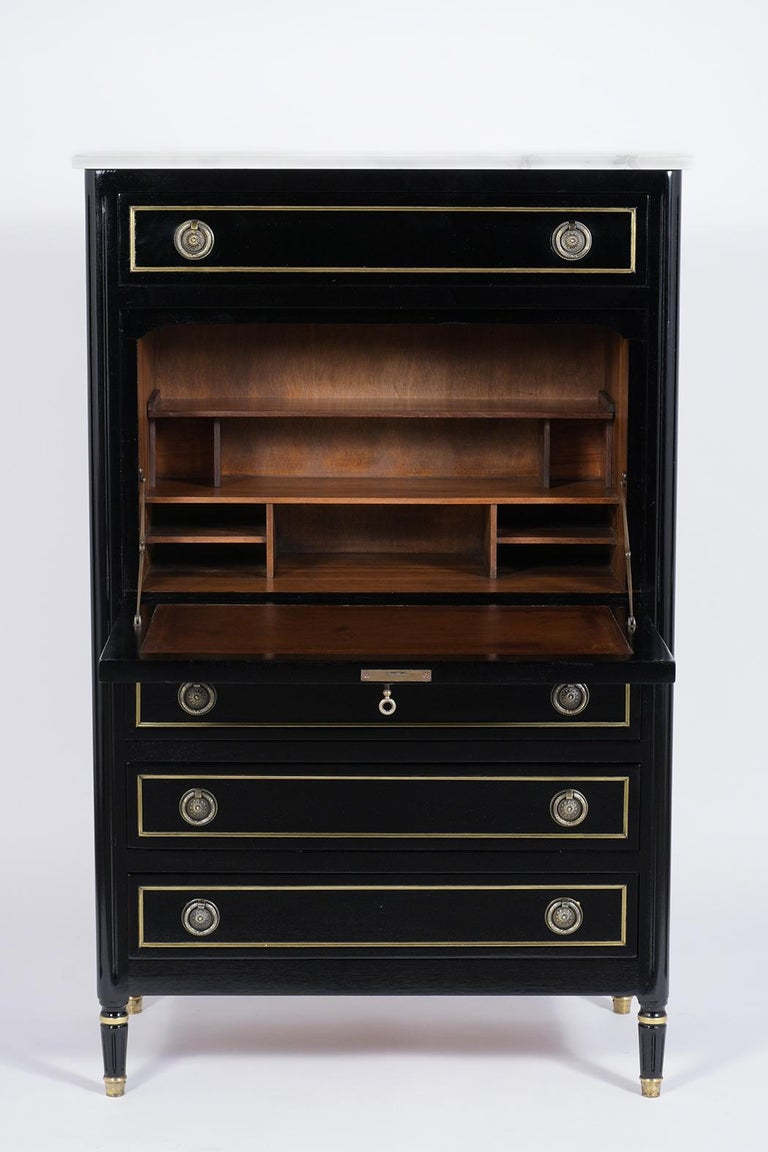 Marble French Louis XVI Secretaire