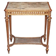 French Louis XVI Side Table