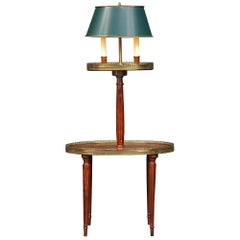 French Louis XVI St. Side Table in Mahogany