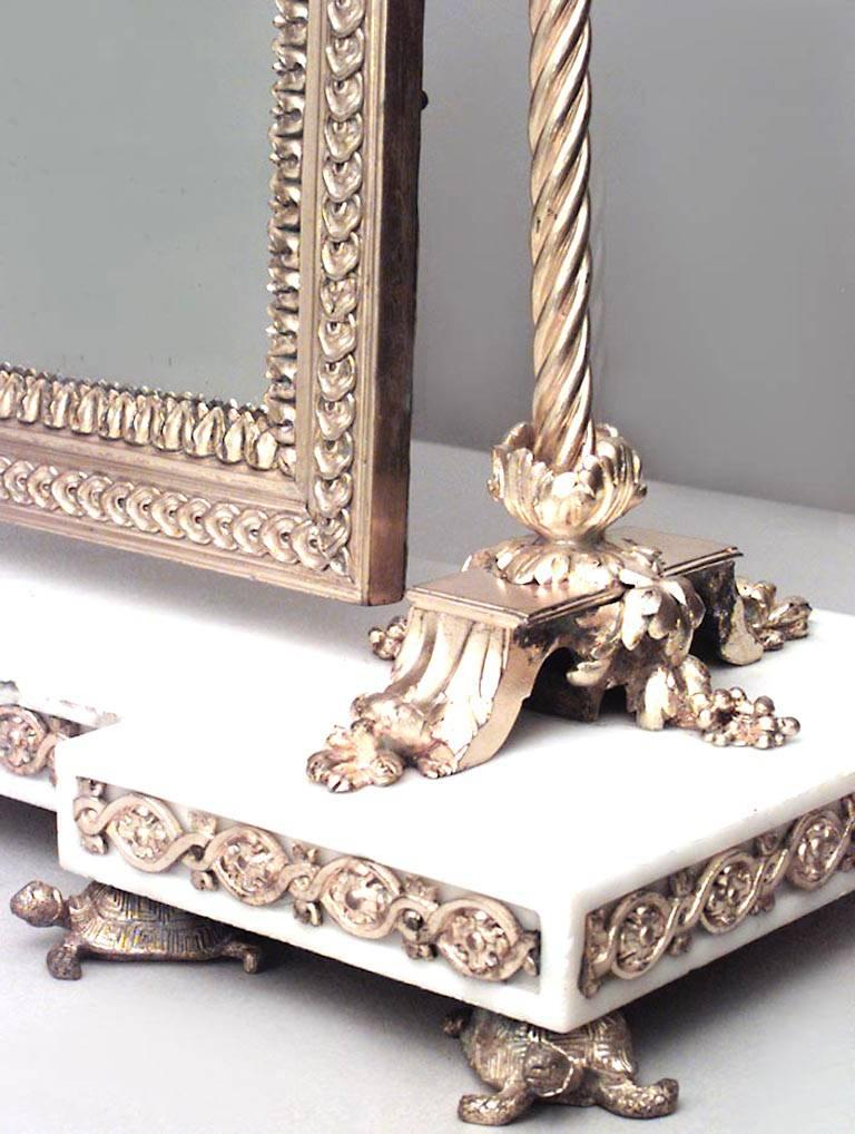 French Louis XVI Style '19th Century' Bronze Doré Dressing Table Mirror For Sale 3