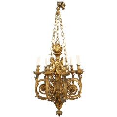 French Louis XVI Style '19th Century' Chandelier