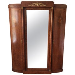 French Louis XVI Style Armoire Wardrobe Cabinet