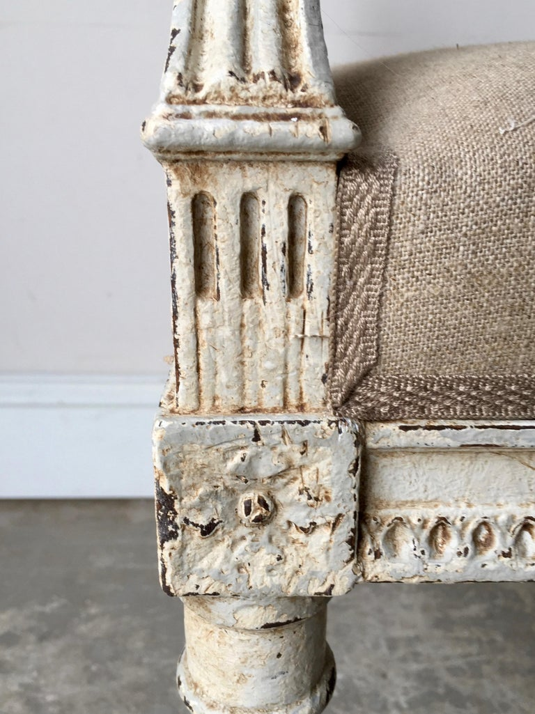 French Louis XVI Style Banquette For Sale 2