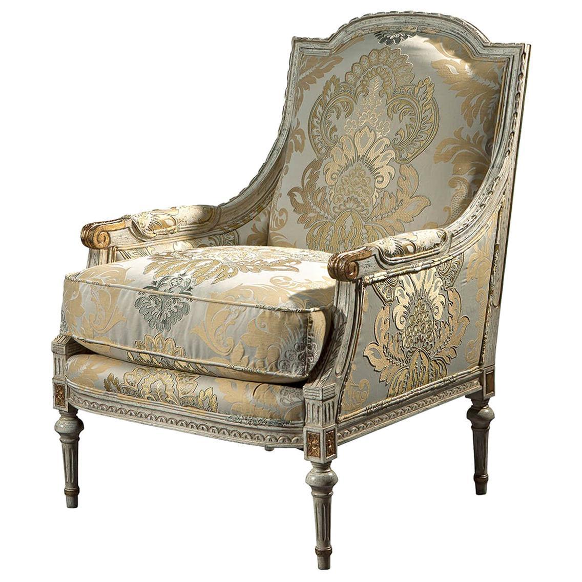 French Louis XVI Style Bergère
