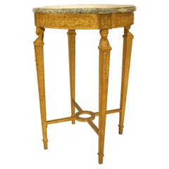 French Louis XVI Style Bronze Doré End Table