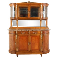 French Louis XVI-Style Buffet and Hutch