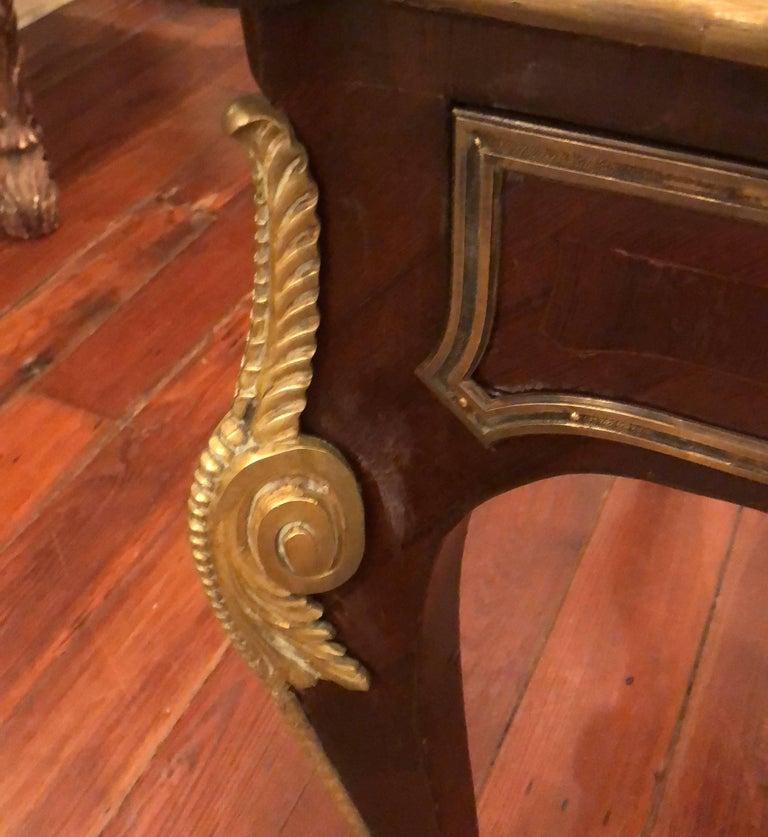 French Louis XVI Style Bureau Plat For Sale 1