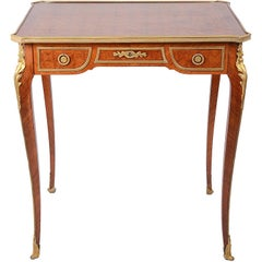French Louis XVI Style Bureau Plat, 19th Century