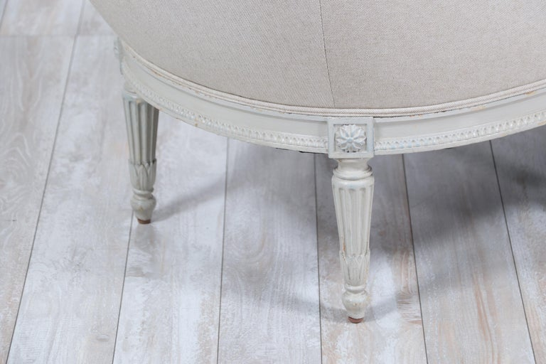 French Louis XVI-Style Chaise Lounge For Sale 8