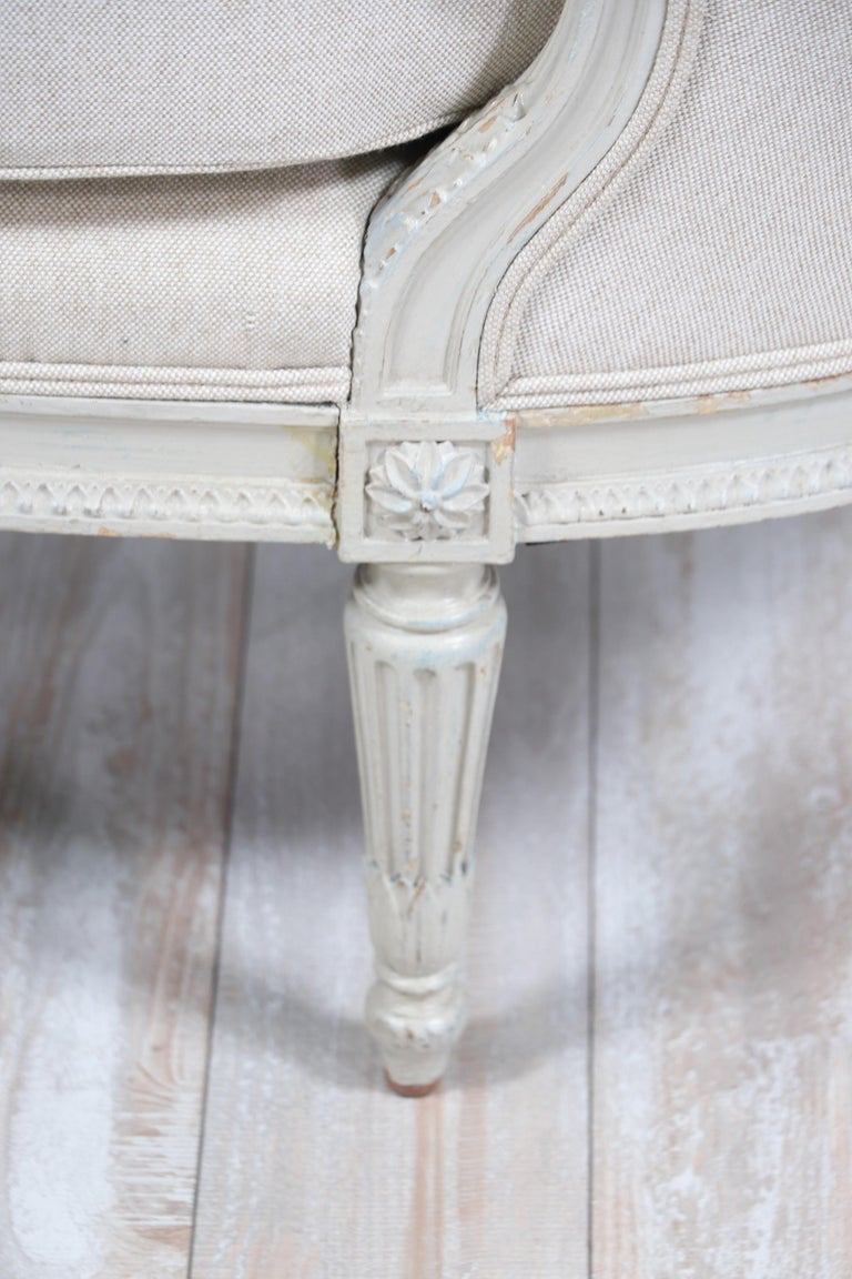 French Louis XVI-Style Chaise Lounge For Sale 7