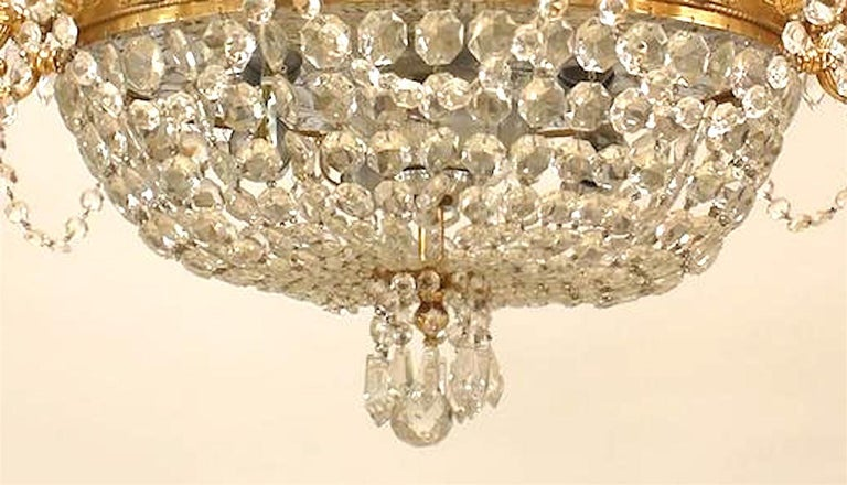 20th Century French Louis XVI Style Chandelier For Sale