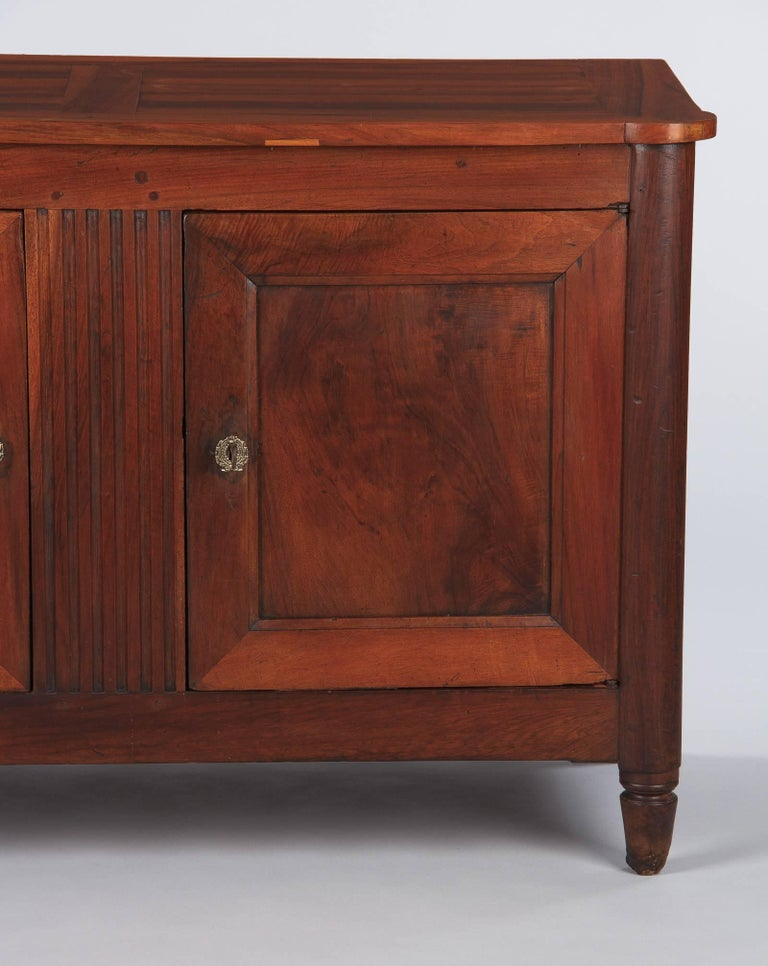 French Louis XVI Style Cherrywood Buffet, 19th Century For Sale 10