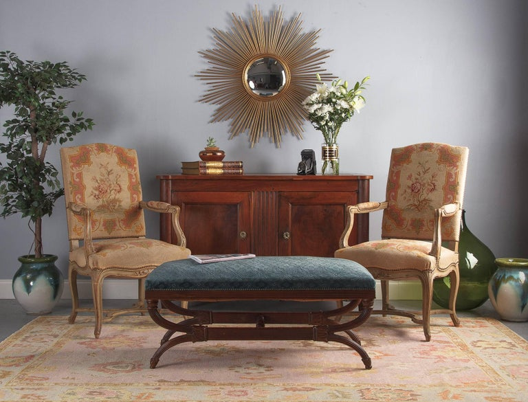 French Louis XVI Style Cherrywood Buffet, 19th Century For Sale 15