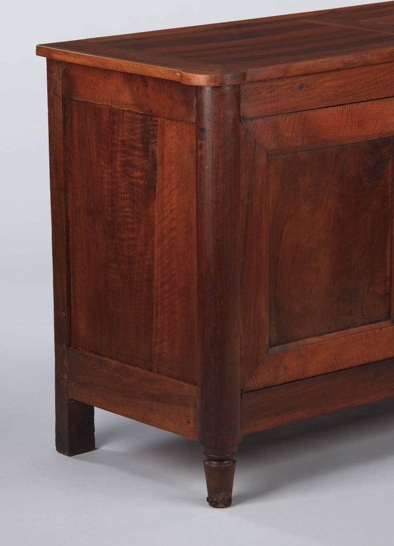 French Louis XVI Style Cherrywood Buffet, 19th Century For Sale 5