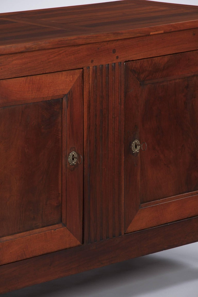 French Louis XVI Style Cherrywood Buffet, 19th Century For Sale 6