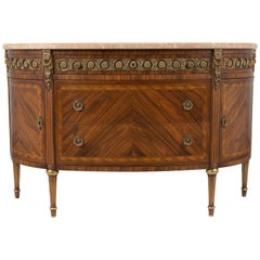 French Louis XVI Style Demilune Server