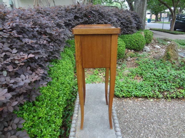 Early 20th Century French Louis XVI Style Fruitwood Table or Nightstand For Sale
