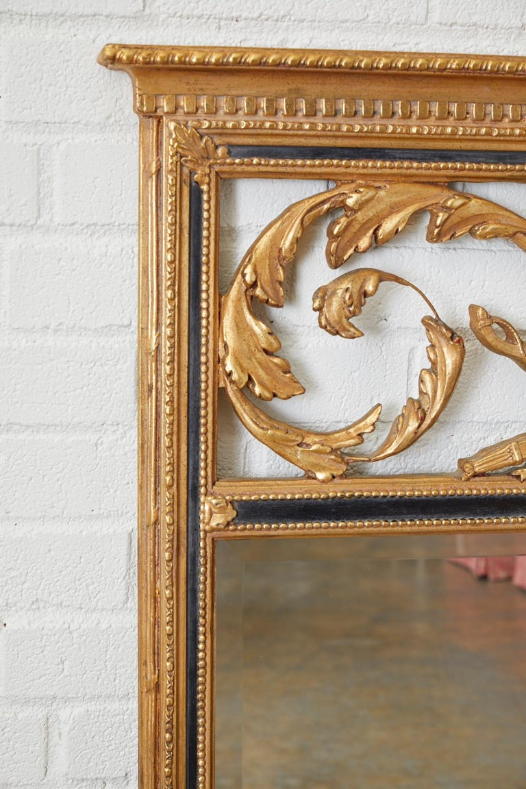 French Louis XVI Style Giltwood Mirror by Friedman Brothers For Sale 2