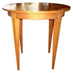 French Louis XVI Style Lemon Wood Table