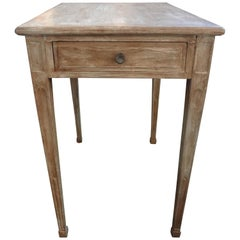 French Louis XVI Style Painted Table