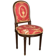 19th c. French Louis XVI Style Side Chair