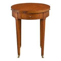 French Louis XVI Style Side Table, Late 19th Century