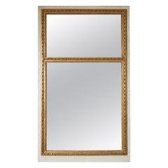 French Louis XVI Style Trumeau Mirror