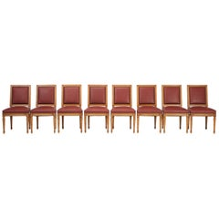 French Made by Hand Louis XVI Style Chairs Available in Any Color or Finish