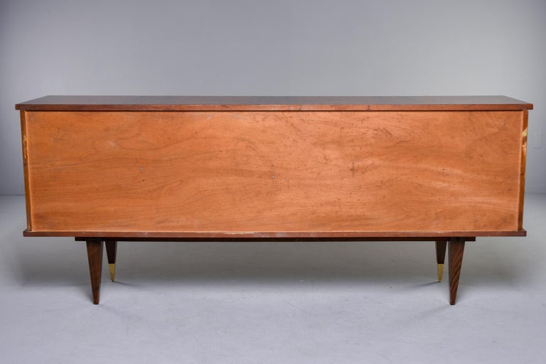 French Mahogany Art Deco Buffet Sideboard or Credenza 7