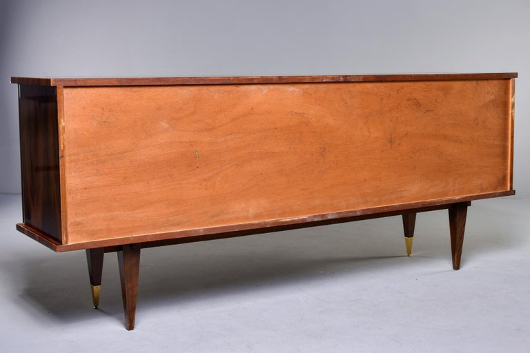French Mahogany Art Deco Buffet Sideboard or Credenza 8