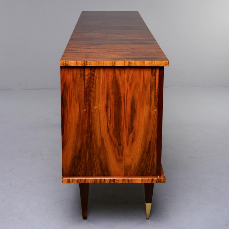 French Mahogany Art Deco Buffet Sideboard or Credenza 1