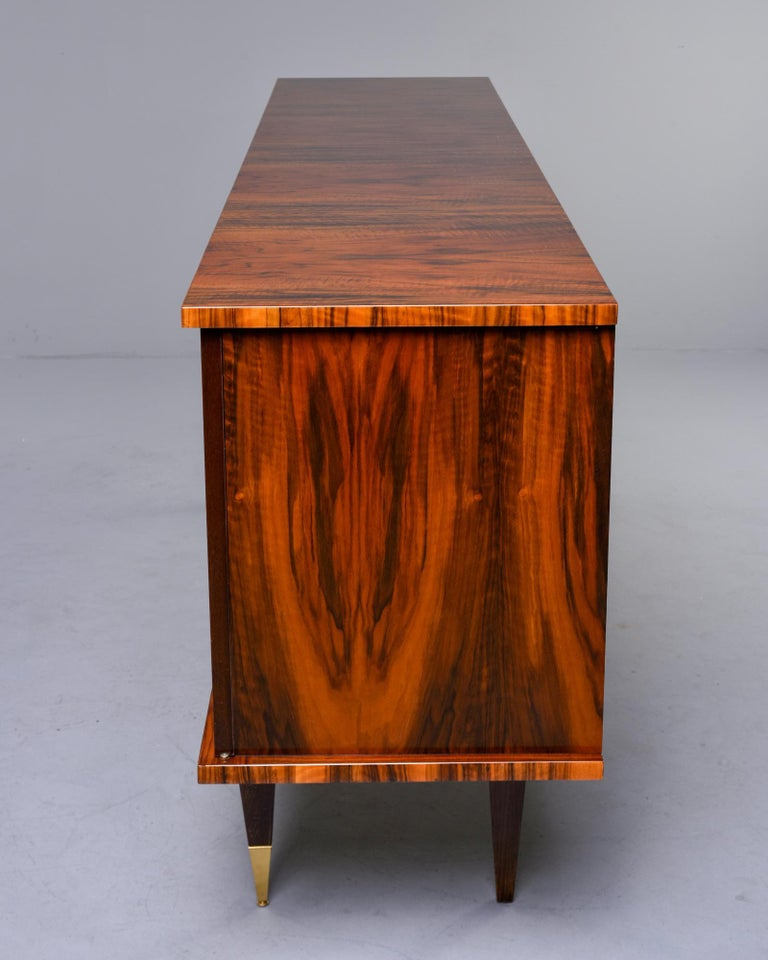 French Mahogany Art Deco Buffet Sideboard or Credenza 4